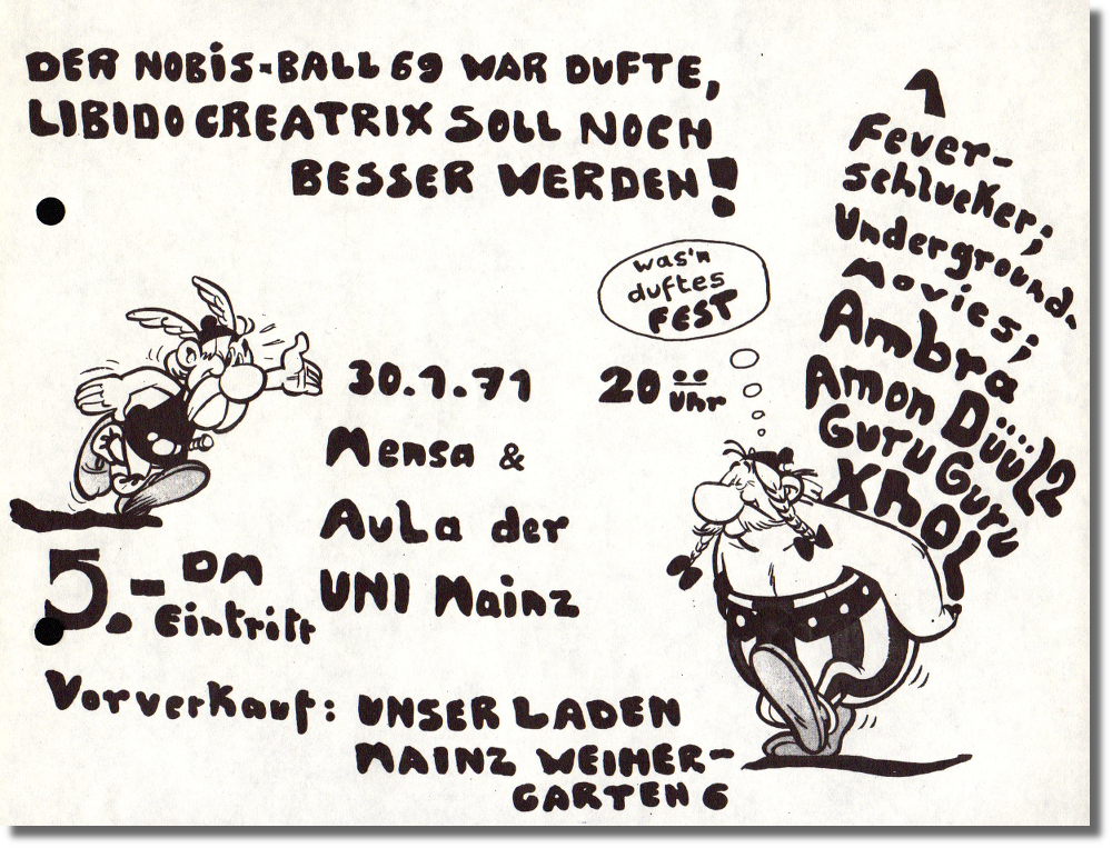 Der Nobis Ball 69 War Dufte; Libido Creatix Soll Noch Besser Werden! [The Nobis Ball Was Fragrant; Libido Creatix Will be Even Better!]