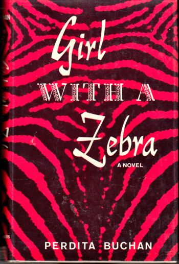 Girl With A Zebra. Perdita Buchan.