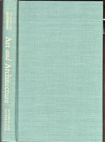 Art and architecture; a bibliography of bibliographies (The Besterman world bibliographies). Theodore Besterman.
