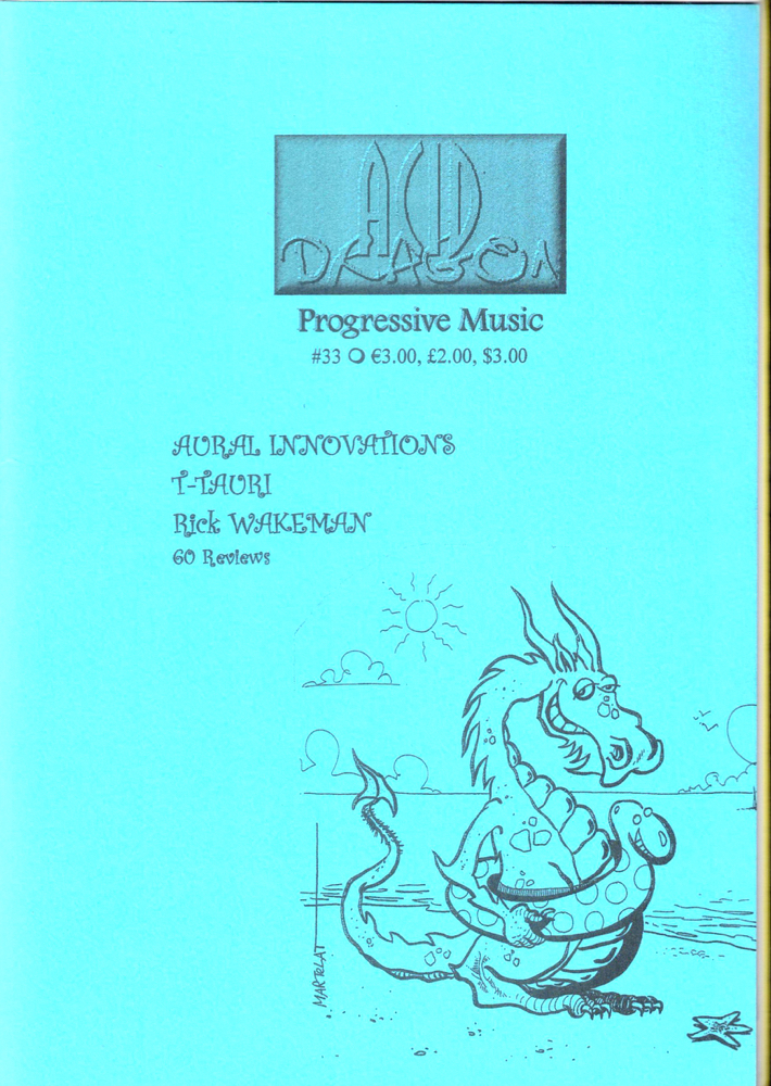 Acid Dragon: Progressive Music Issue Number 33. Thierry Sportouche.