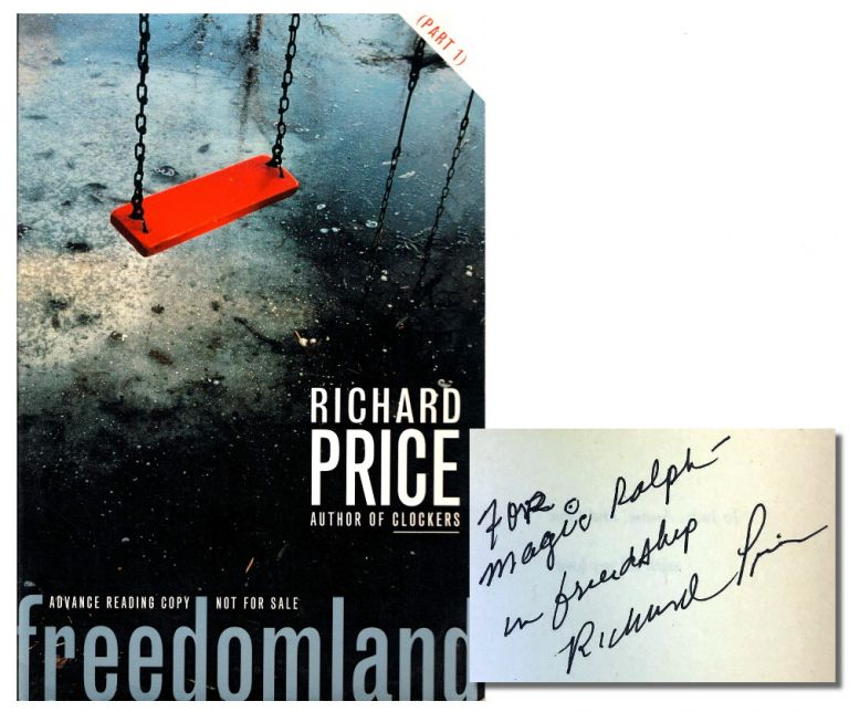 Freedomland [Part One]. Richard Price.