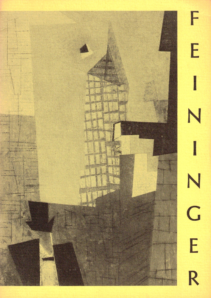 Lyonel Feininger: Recent Paintings and Watercolors (1951-1954). Mark Tobey.