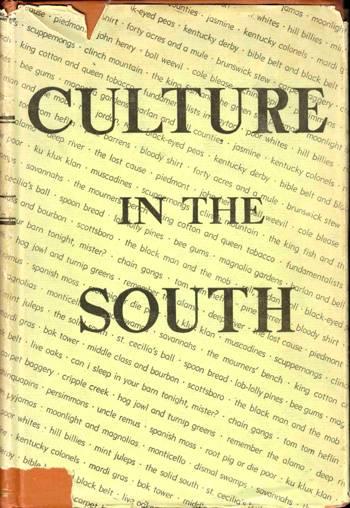 Culture in the South. Cough. W. T.