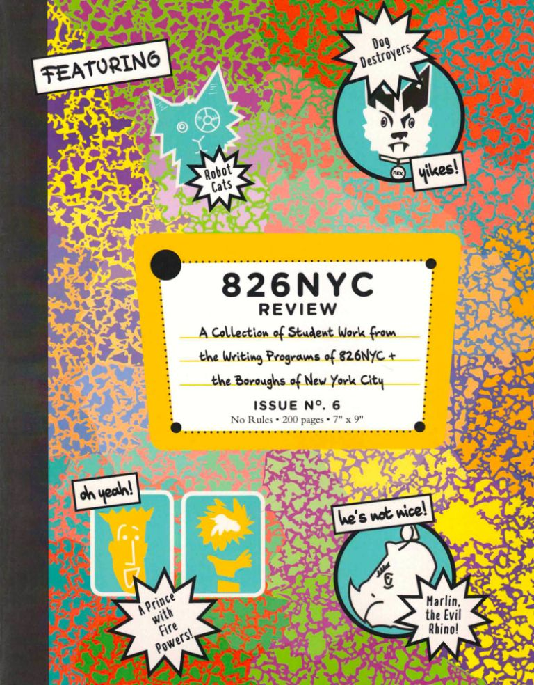 826NYC Review Issue 6. Camille Drummond.