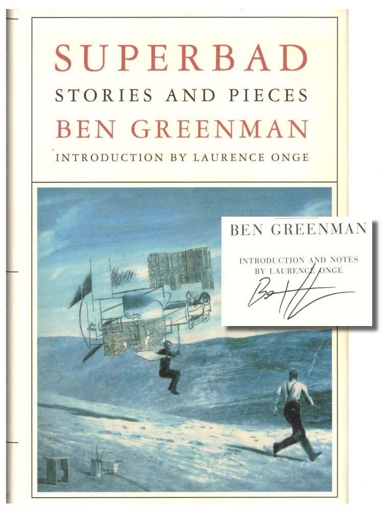 Superbad: Stories and Pieces. Ben Greenman.