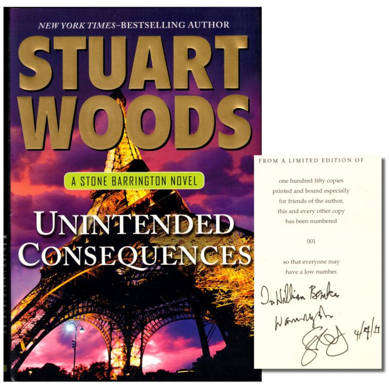 Unintended Consequences. Stuart Woods.