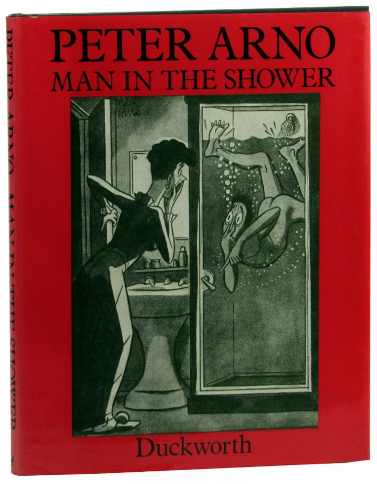 Man in the Shower. Peter Arno.