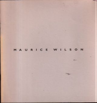 Maurice Wilson : New Works