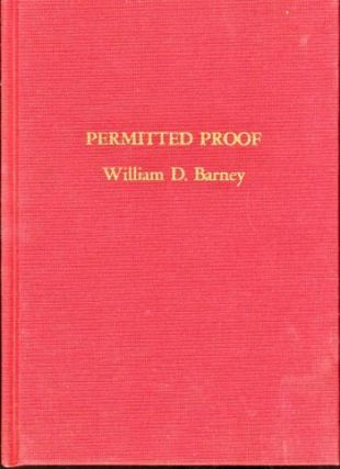 Permitted Proof. William D. Barney