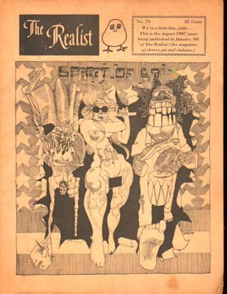 The Realist No. 76, January,1968: The Spirit of 69. Paul Krassner.
