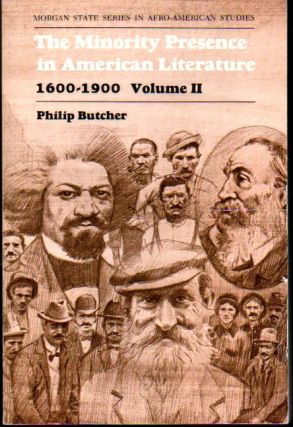The Minority Presence in American Literature, 1600-1900 Volume Two: A Reader and Course Guide....
