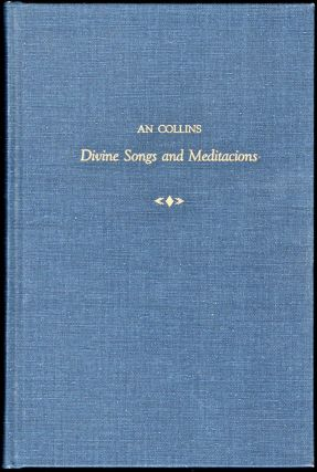 Divine Songs and Meditations. An Collins