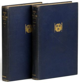 Tides in English Taste (1619-1800): A Background For the Study of Literature [Two Volume Set]. B....