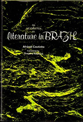 An Introduction to Literature in Brazil. Afranio Coutinho