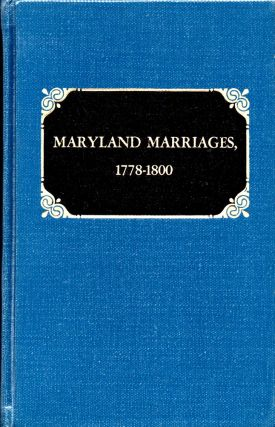 Maryland Marriages 1778-1800. Robert Barnes