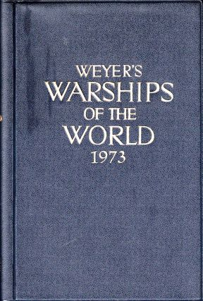 Weyer's Warships of the World 1973. Gerhard Albrecht.