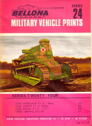 Military Vehicle Prints Series 24. Bellona.