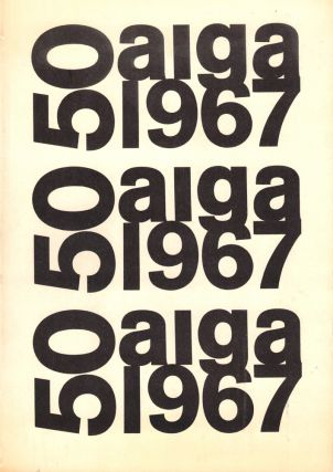 Fifty Books of the Year 1967. Directors American Institue of Graphic Arts