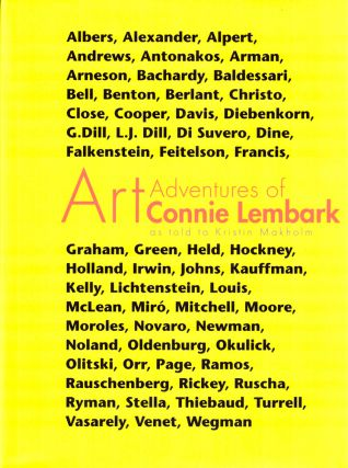 Art Adventures of Connie Lembark. Kristin Makholm