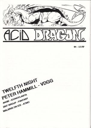 Acid Dragon: Psychedlic and Progressive Rock Issue Number 4. Andre-Francois Ruaud, Thierry...