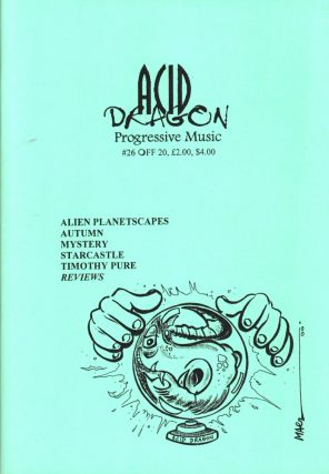 Acid Dragon: Progressive Music Issue Number 26. Thierry Sportouche