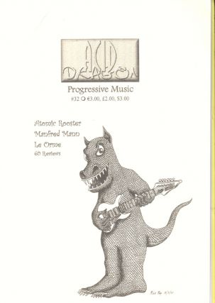 Acid Dragon: Progressive Music Issue Number 32. Thierry Sportouche