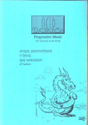 Acid Dragon: Progressive Music Issue Number 33. Thierry Sportouche