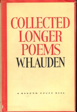 Collected Longer Poems. W. H. Auden