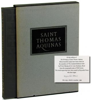Saint Thomas Aquinas: Selections From His Work. George Shuster