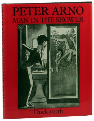 Man in the Shower. Peter Arno